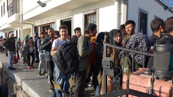 Çanakkale'de 314 göçmen yakalandı