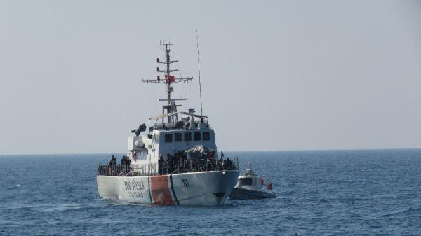 Çanakkale'de 242 mülteci yakalandı