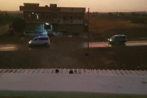 YPG'li teröristlerin çıkışı yakından takip ediliyor
