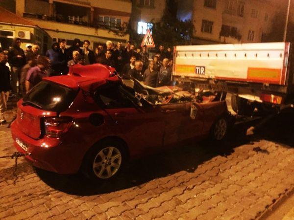 Muğla Kavaklıdere'de kaza: 1 ölü