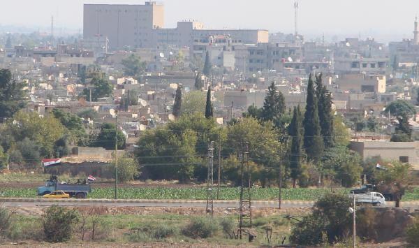 Kamışlı'da rejim güçleri, YPG kontrolündeki bölgeye geçti -5