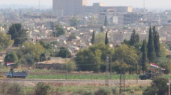 Kamışlı'da rejim güçleri, YPG kontrolündeki bölgeye geçti -4