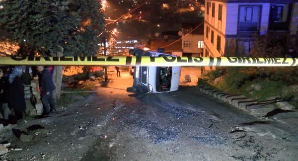 (Geniş Haber)Eyüpsultan'da okul servisi kaza yaptı: 7 çocuk yaralandı -2