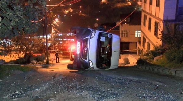 (Geniş Haber)Eyüpsultan'da okul servisi kaza yaptı: 7 çocuk yaralandı -3