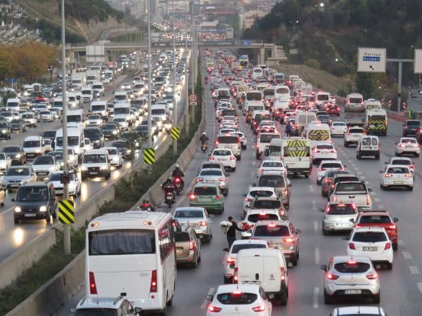 İstanbul trafiğinde son durum -3