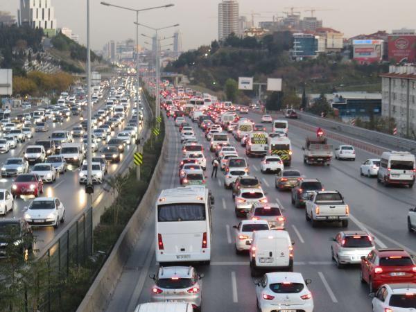 İstanbul trafiğinde son durum -5