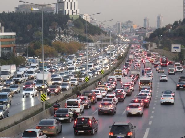 İstanbul trafiğinde son durum -4