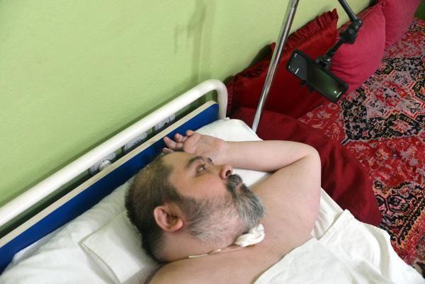 Doktorların 2 yıl ömür biçtiği Ali, Siri ile hayata tutundu -5