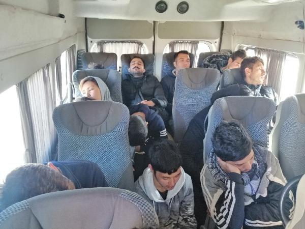 Çanakkale'de 98 kaçak göçmen yakalandı -3