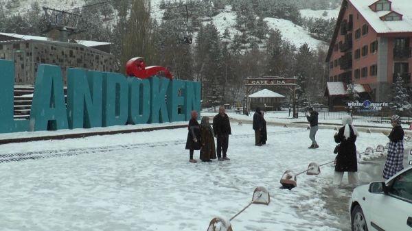 Palandöken'de kar coşkusu -2