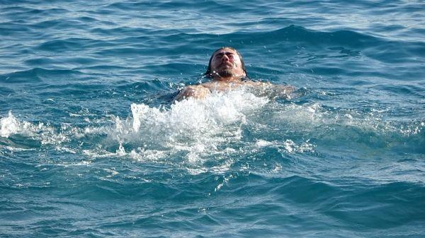 Antalya'da aralık ayında deniz keyfi -8