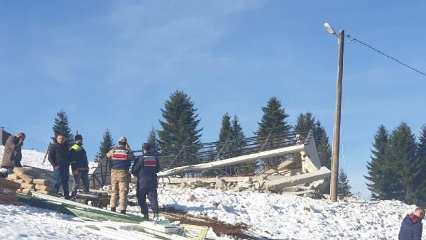 Trabzon'da 160 kaçak yapı yıkıldı -7