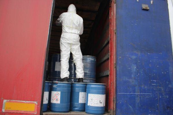 Gürbulak sınır kapısında 18,4 ton siyanür yakalandı -3