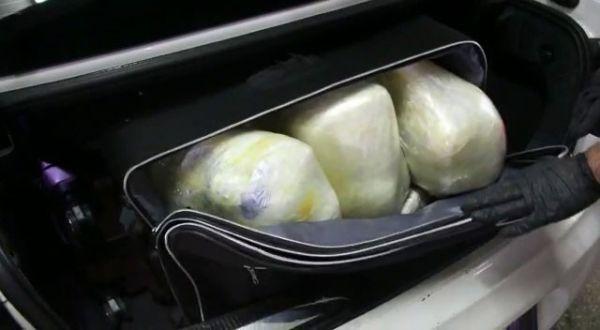 Bolu'da 121 kilo esrarla yakalanan polis tutuklandı -5