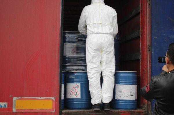 Gürbulak sınır kapısında 18,4 ton siyanür yakalandı -2