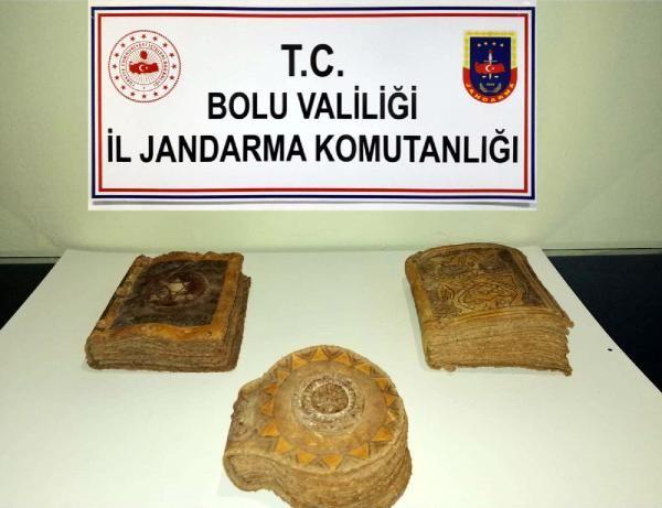 Bolu'da tarihi 3 Tevrat ele geçirildi -1