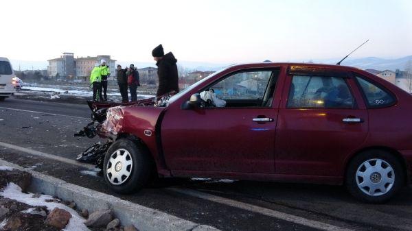Ardahan'da trafik kazası: 4 yaralı -2