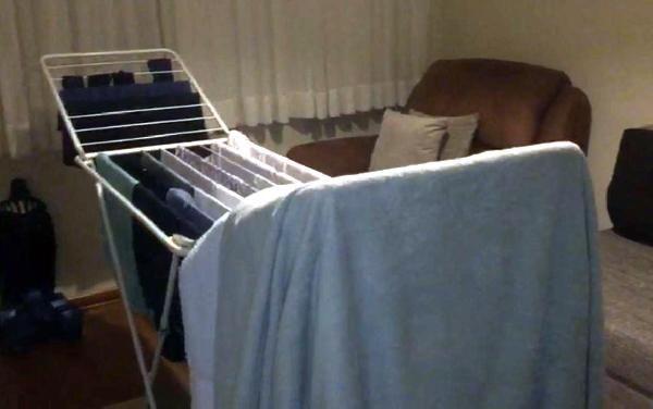 Evde çamaşır kurutmak, akciğer hastalığı nedeni -2