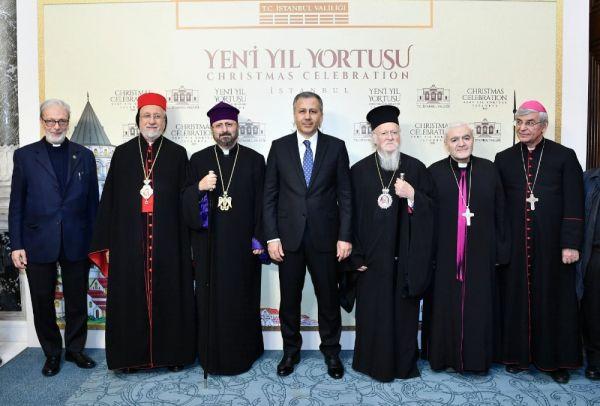 İstanbul Valiliği'nde Yeni Yıl Yortusu programı