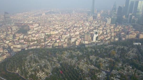 (havadan fotoğraflarla) İSTANBUL'DA MEZAR YERLERİNE ZAM -3