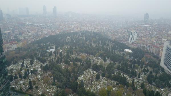 (havadan fotoğraflarla) İSTANBUL'DA MEZAR YERLERİNE ZAM -6