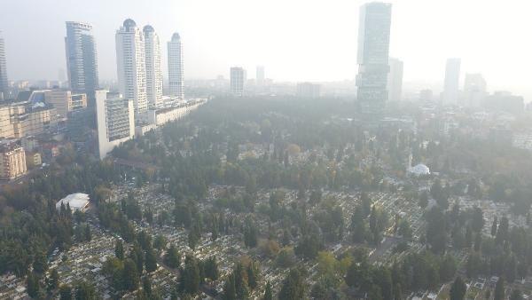 (havadan fotoğraflarla) İSTANBUL'DA MEZAR YERLERİNE ZAM -1