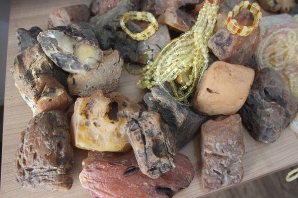 500 bin lira değerinde kehribar taşı ele geçirildi