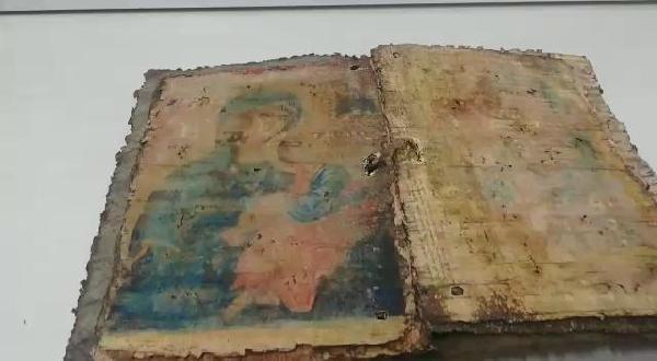 Bursa'da bin yıllık İncil bulundu