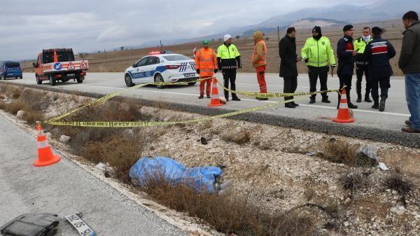 Cenaze dönüşü kaza: 1 ölü, 4 yaralı -3