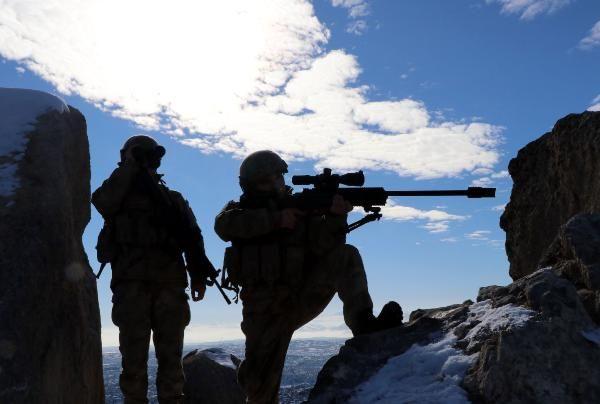 Tendürek Dağı'nda eksi 35 derecede vatan savunması -8
