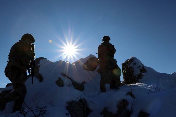 Tendürek Dağı'nda eksi 35 derecede vatan savunması -1