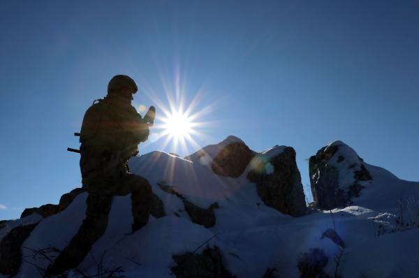 Tendürek Dağı'nda eksi 35 derecede vatan savunması -6
