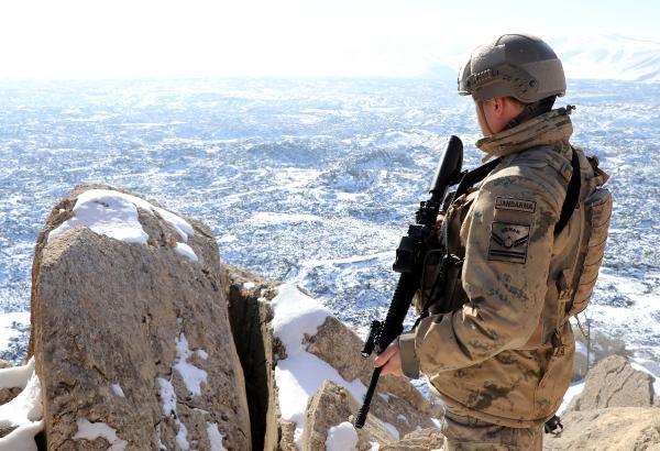 Tendürek Dağı'nda eksi 35 derecede vatan savunması -4