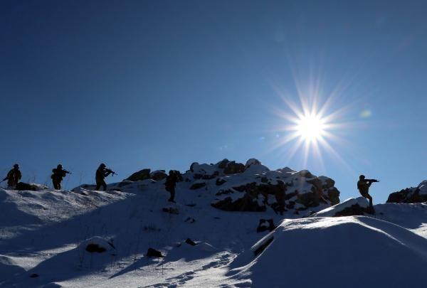Tendürek Dağı'nda eksi 35 derecede vatan savunması -2