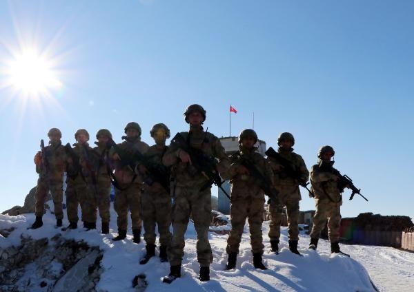 Tendürek Dağı'nda eksi 35 derecede vatan savunması -5