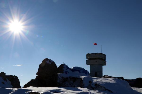 Tendürek Dağı'nda eksi 35 derecede vatan savunması -9