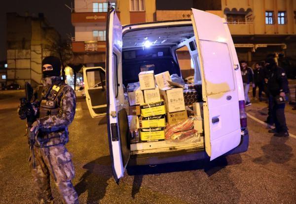 Gaziantep'te geniş çaplı uyuşturucu operasyonu
