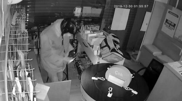 Telefon hırsızı kamerada -2