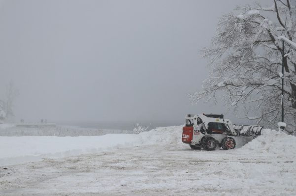 Abant'ta kar kalınlığı 1 metreyi buldu -2