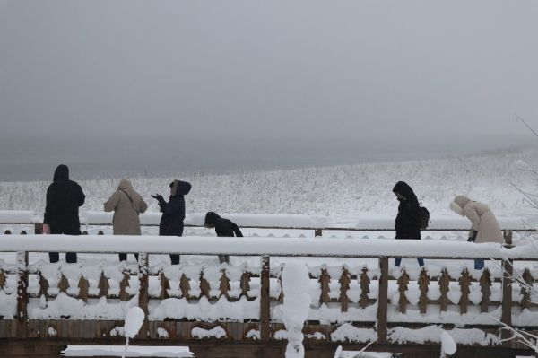 Abant'ta kar kalınlığı 1 metreyi buldu -5