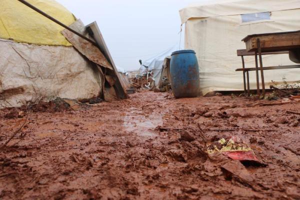 İdlib'den Türkiye sınırına göç edenlerin sayısı 380 bine ulaştı -2