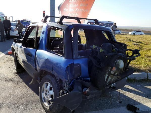 Tekirdağ'da ışık ihlali yapan sürücü, otomobile çarpınca yaşamını yitirdi -2