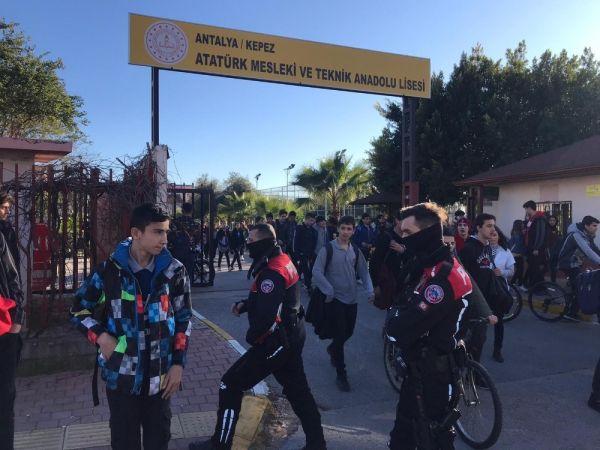 Polis okullar çevresinde kuş uçurtmuyor -2