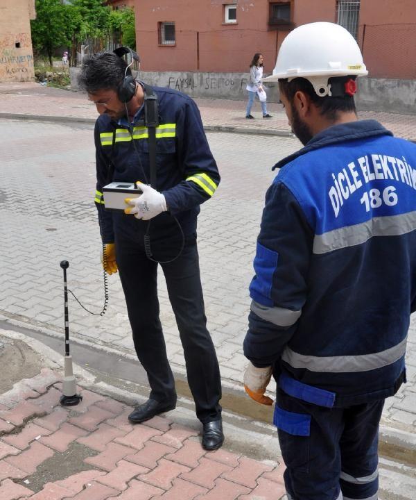 Elektrik kesintisini araştırılırken, yer altında çekilen kaçak hat buldular -4