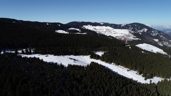 Kümbet Yaylası'nda kış güzelliği -1