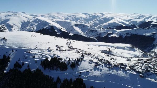 Kümbet Yaylası'nda kış güzelliği -4