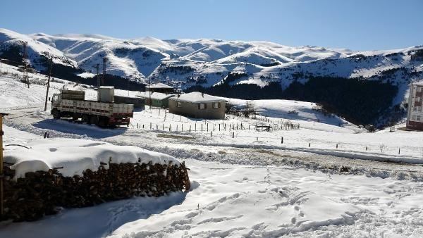 Kümbet Yaylası'nda kış güzelliği -9