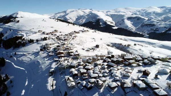 Kümbet Yaylası'nda kış güzelliği -8