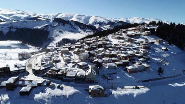 Kümbet Yaylası'nda kış güzelliği -2