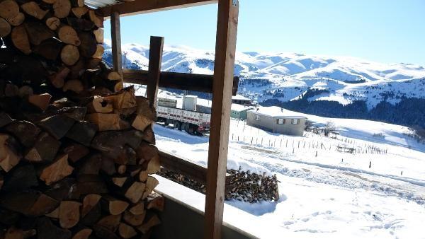 Kümbet Yaylası'nda kış güzelliği -10
